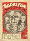 Cover For Radio Fun Bumper Song Book