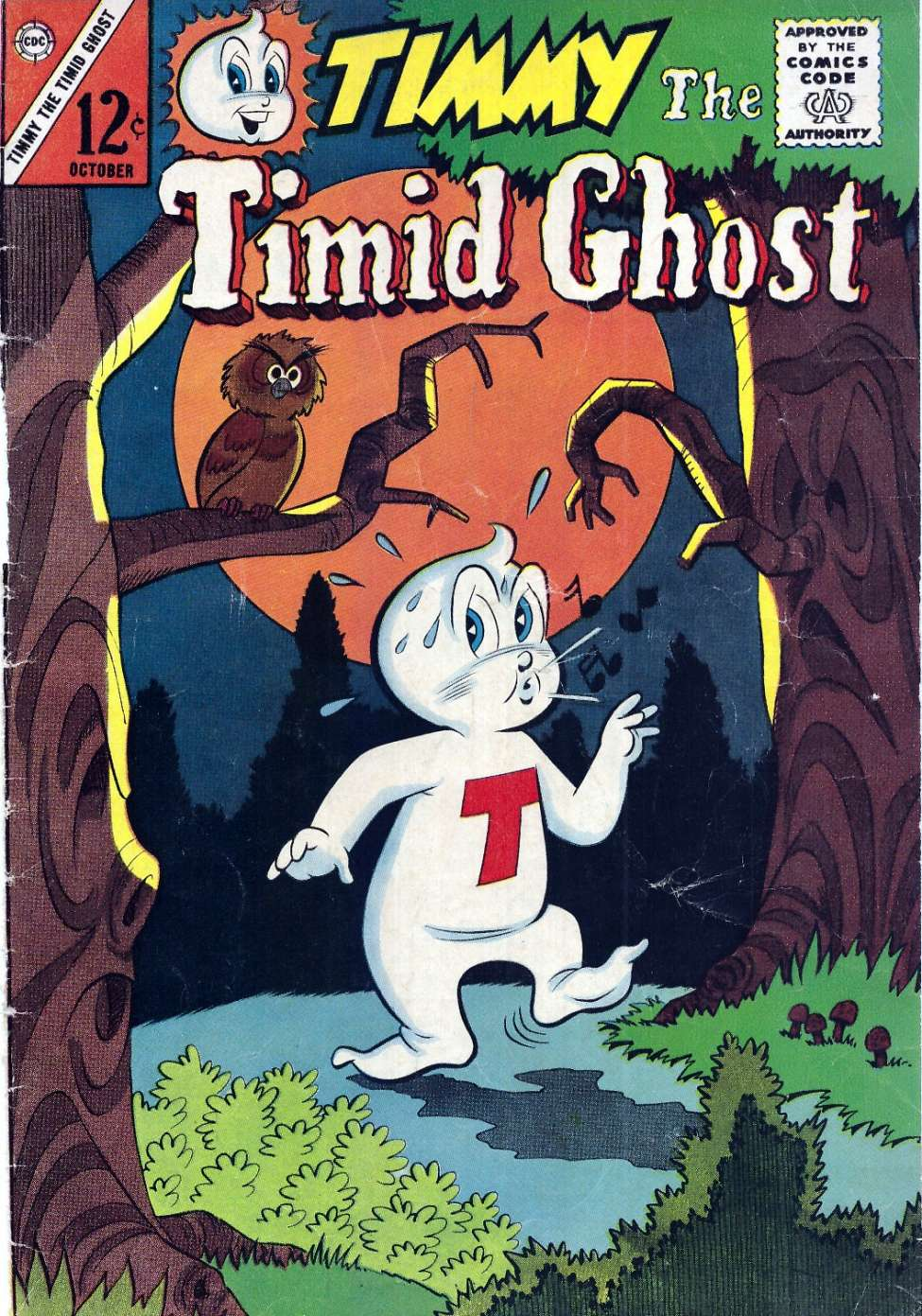 Comic Book Cover For Timmy the Timid Ghost #44