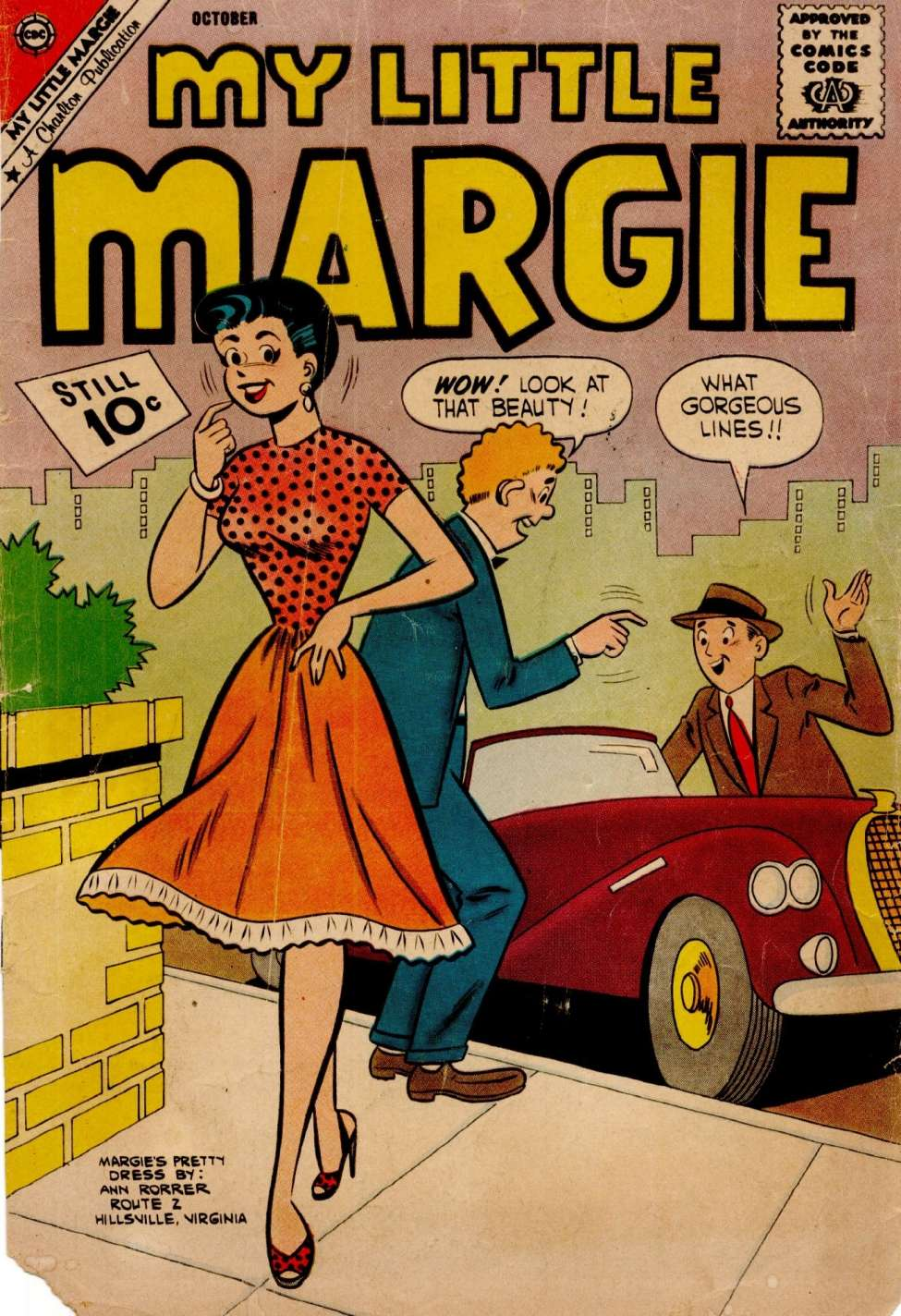Comic Book Cover For My Little Margie #38