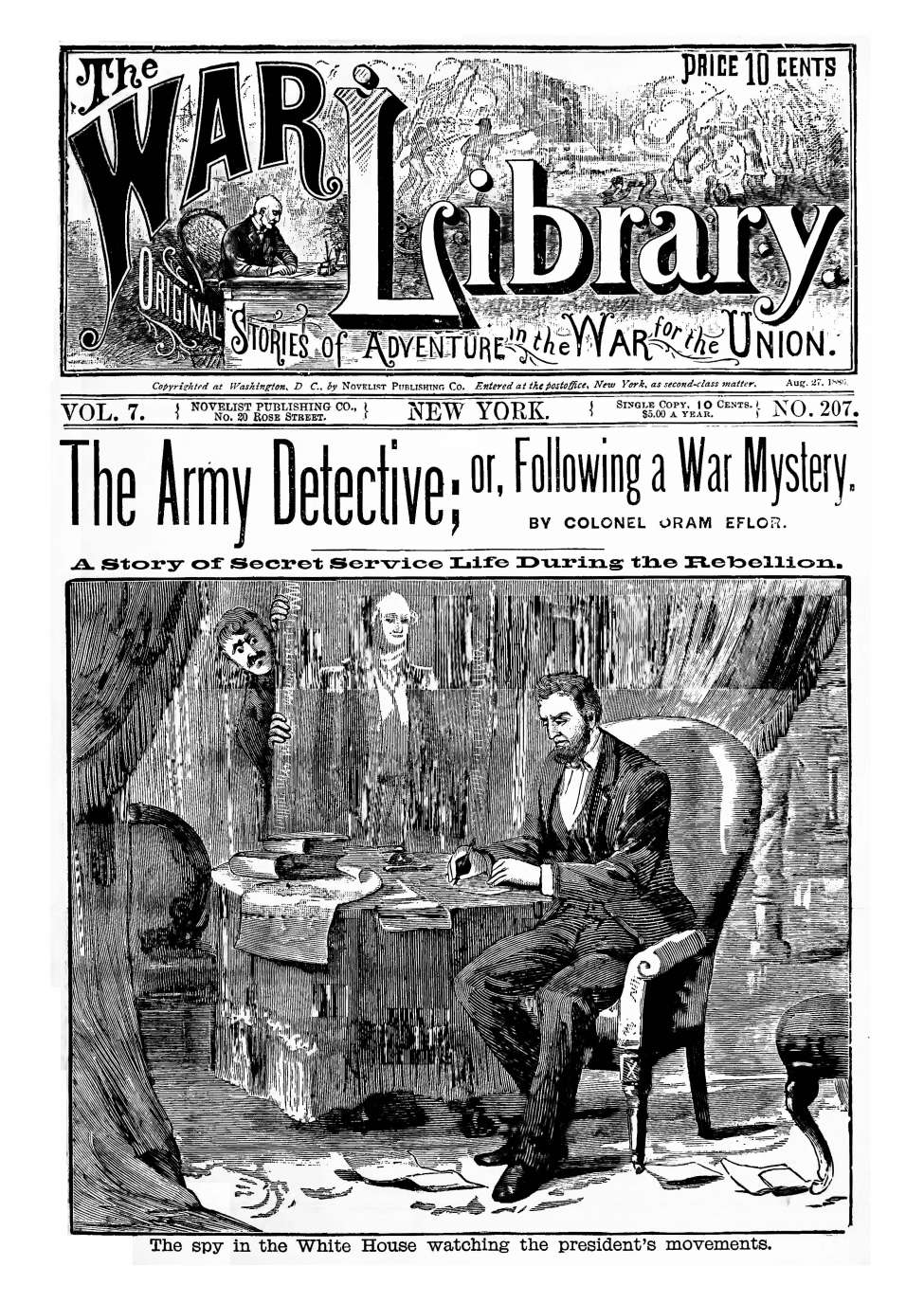 Comic Book Cover For The War Library v07 207