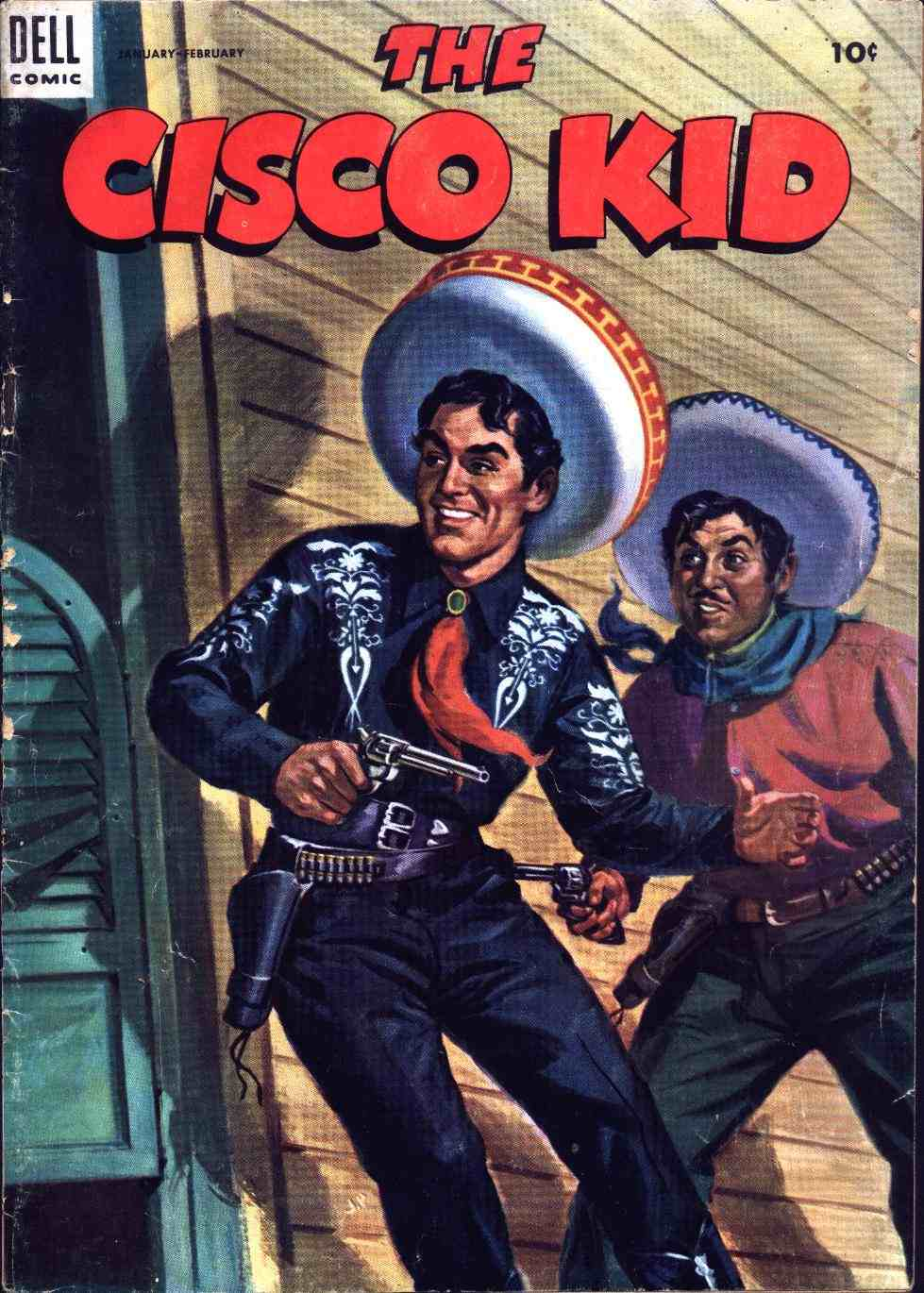 Comic Book Cover For The Cisco Kid 19