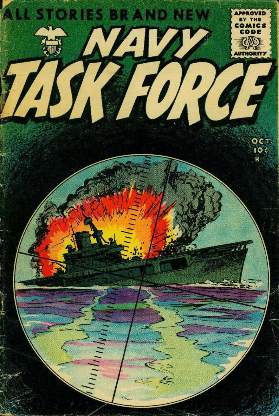 Comic Book Cover For Navy Task Force #6