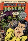 Cover For Adventures into the Unknown 39