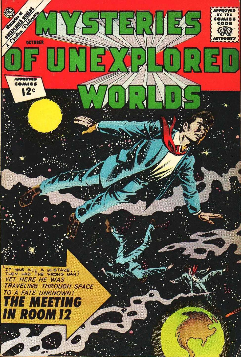 Comic Book Cover For Mysteries of Unexplored Worlds #32