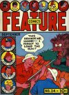 Cover For Feature Comics 24