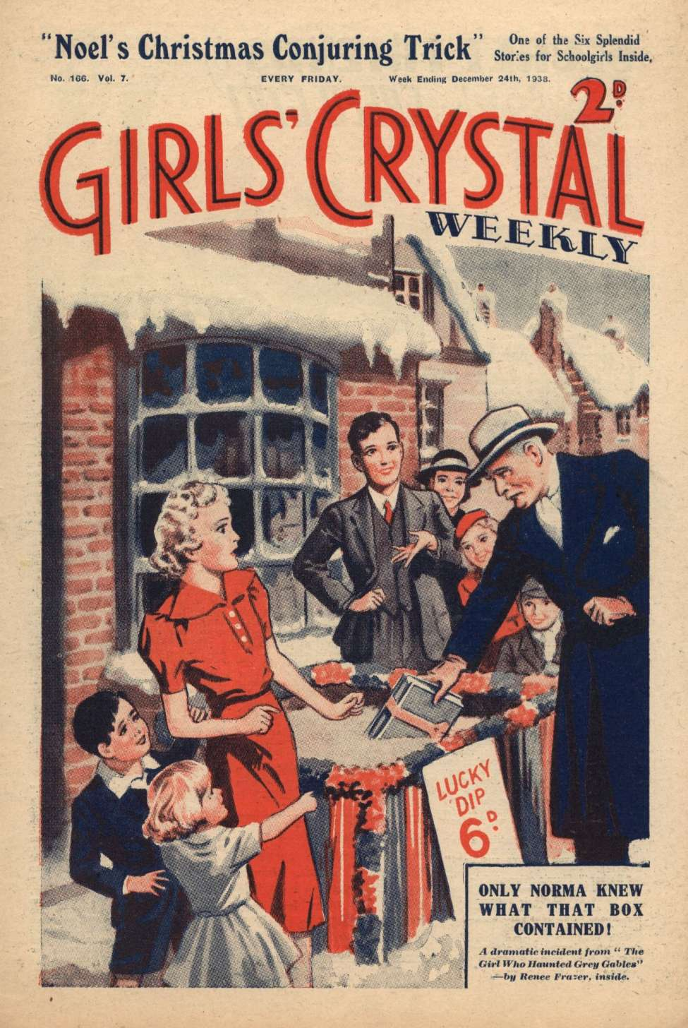 Comic Book Cover For Girls' Crystal 0166