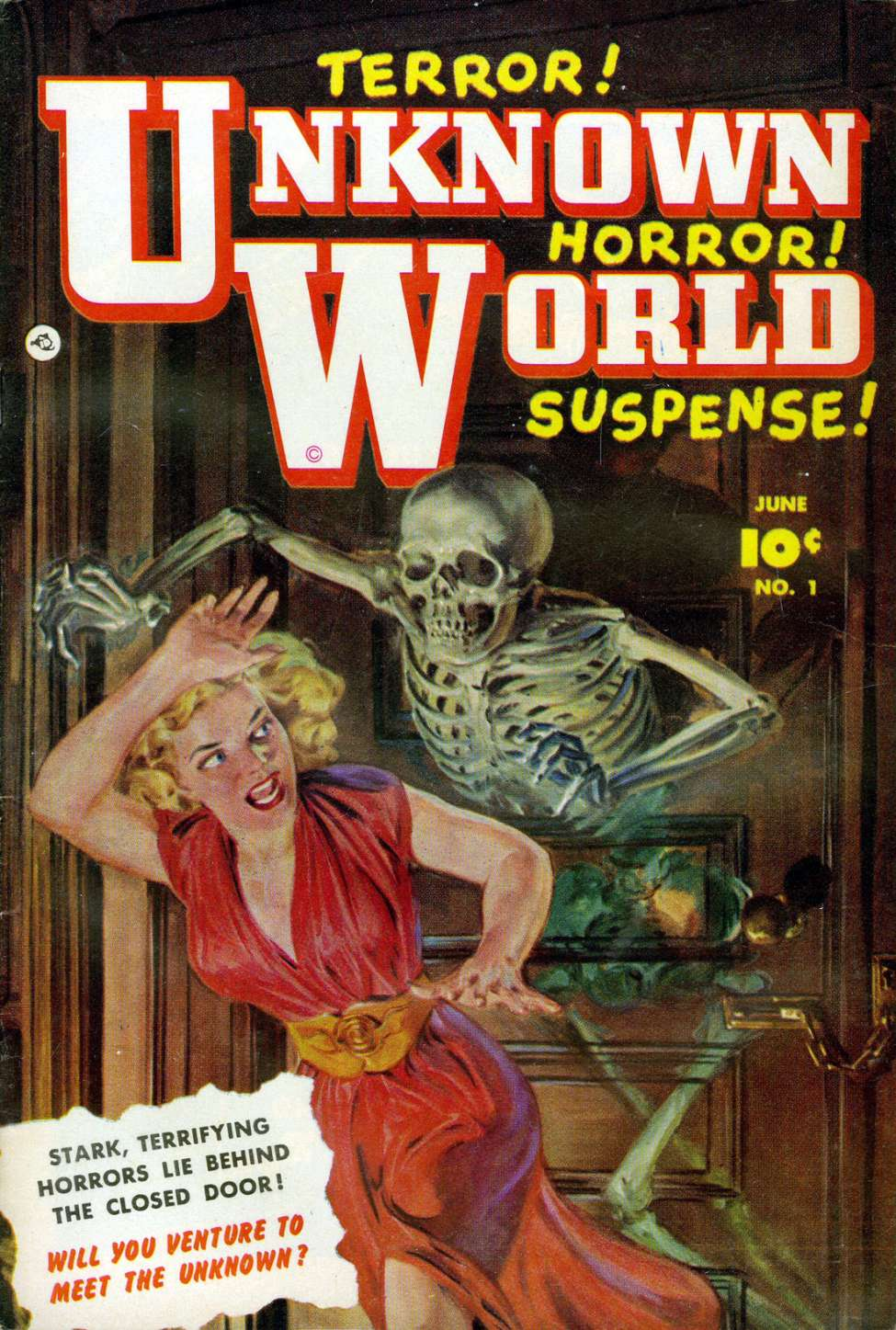 Comic Book Cover For Unknown World 1