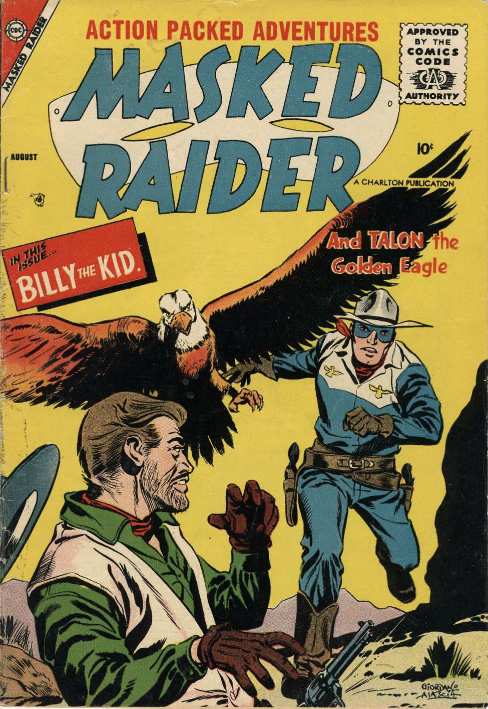 Comic Book Cover For Masked Raider #14