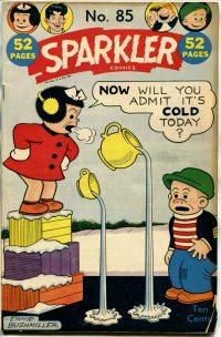 Large Thumbnail For Sparkler Comics #85