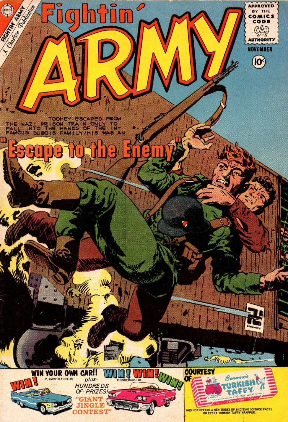 Comic Book Cover For Fightin' Army #38