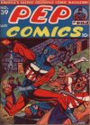 Cover For Pep Comics 39