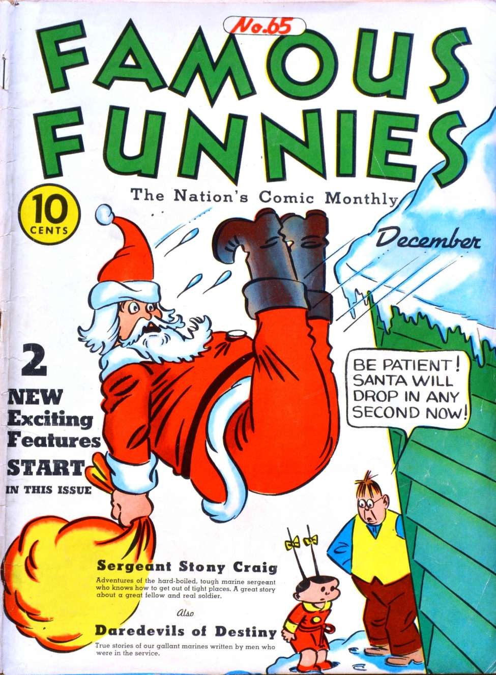 Comic Book Cover For Famous Funnies #65
