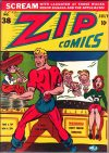 Cover For Zip Comics 38