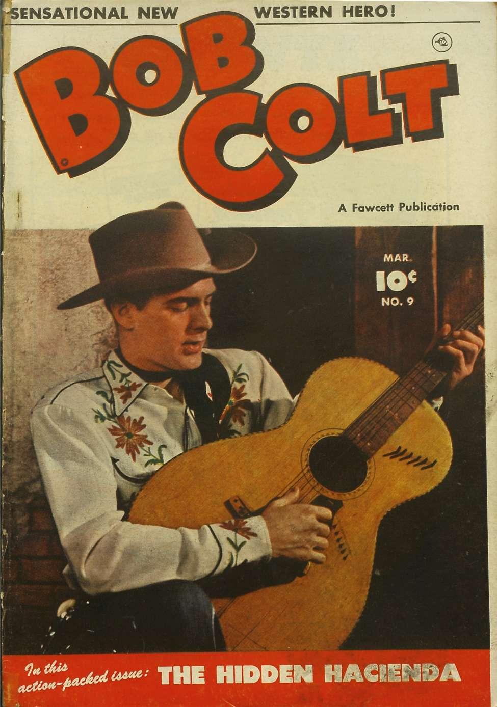 Comic Book Cover For Bob Colt #9