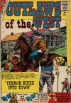 Cover For Outlaws of the West 26