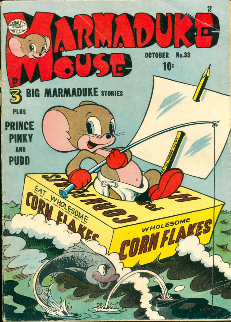 Comic Book Cover For Marmaduke Mouse #33