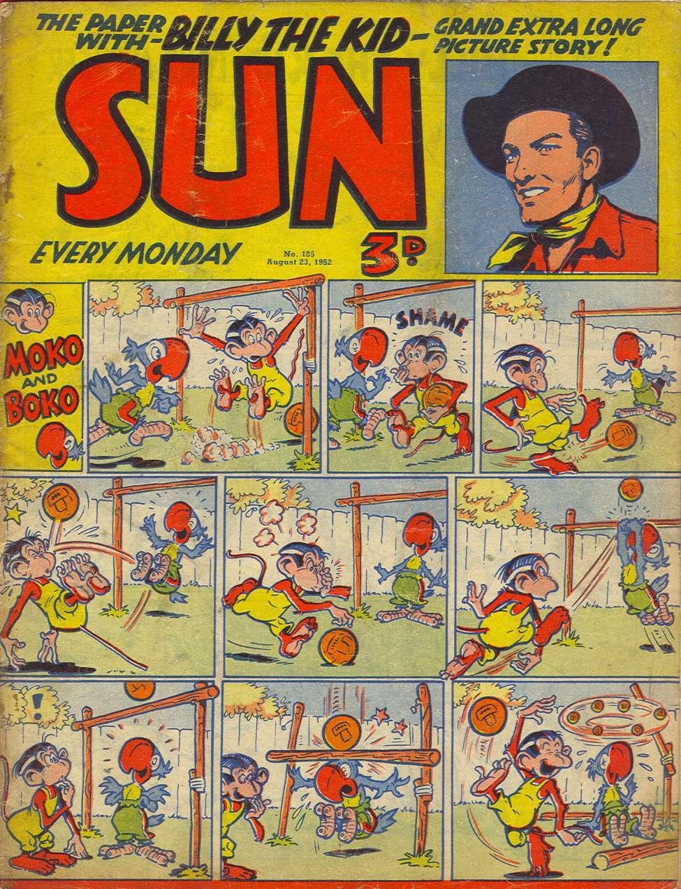 Comic Book Cover For Sun #185