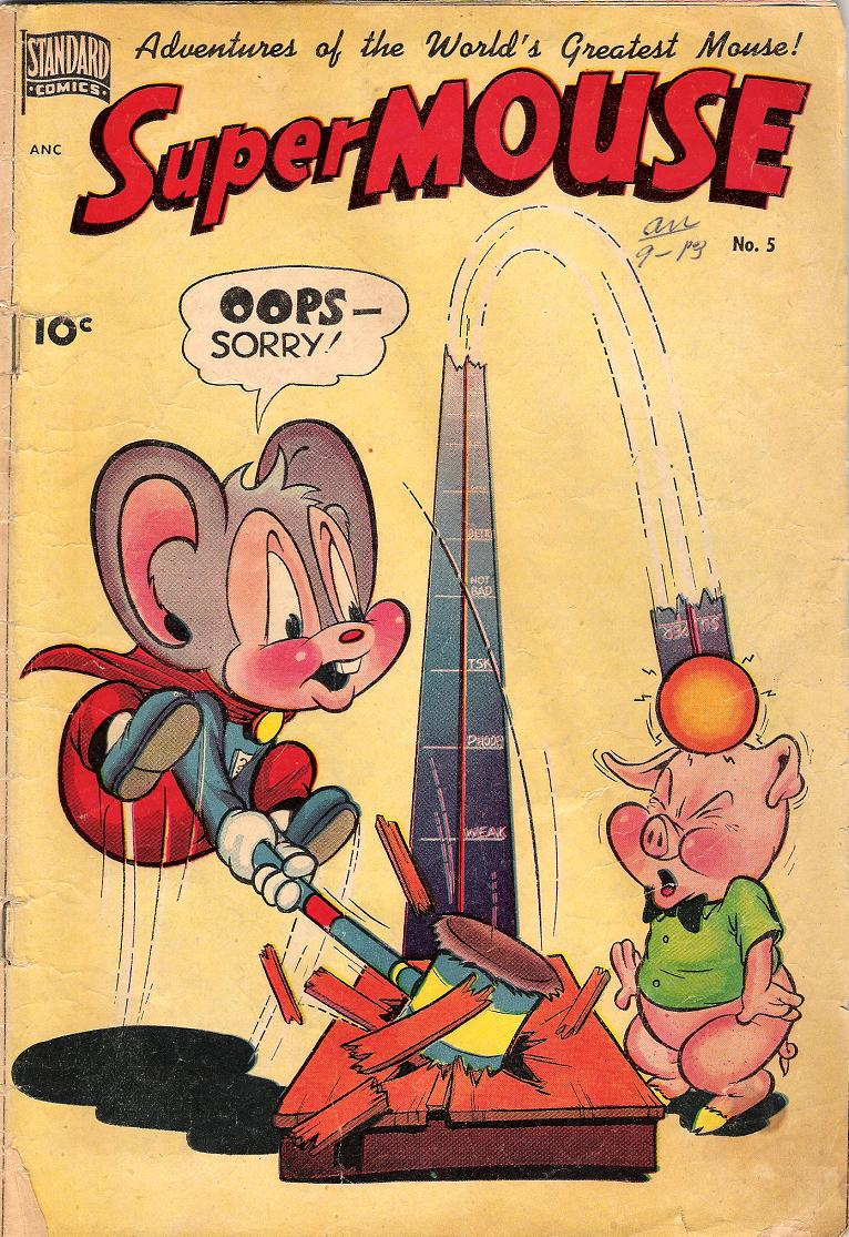 Comic Book Cover For Supermouse #5
