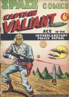 Cover For Space Comics (Captain Valiant) 57