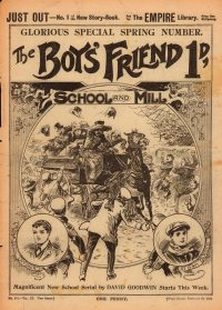 Large Thumbnail For The Boys' Friend 0454 - School and Mill