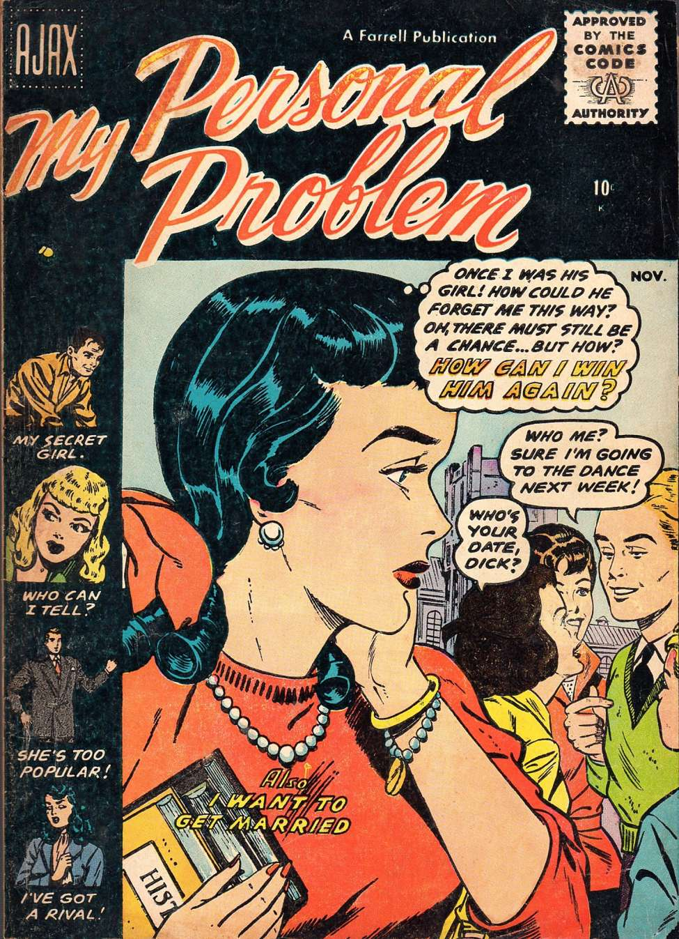 Comic Book Cover For My Personal Problem #4