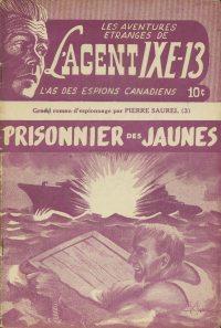 Large Thumbnail For L'Agent IXE-13 v2 003 – Prisonnier des jaunes