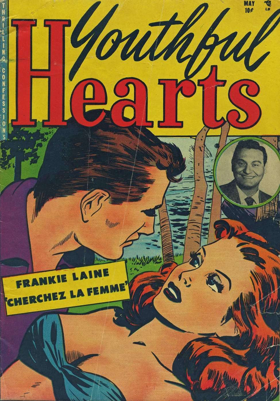 Comic Book Cover For Youthful Hearts #1