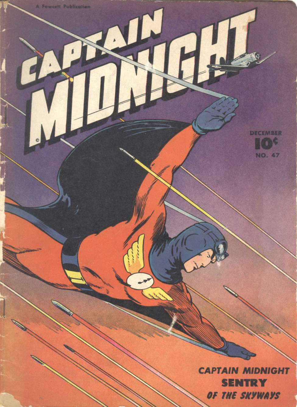 Comic Book Cover For Captain Midnight #47 - Version 2
