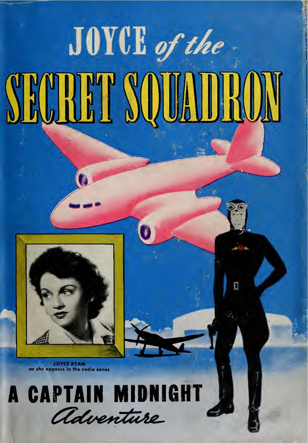 Comic Book Cover For Joyce of the Secret Squadron - A Captain Midnight Adventure