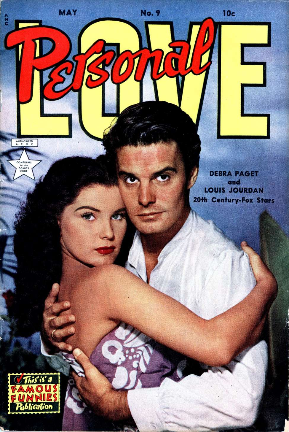 Comic Book Cover For Personal Love #9