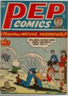 Cover For Pep Comics 54