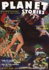 Cover For Planet Stories v1 11 Venus Enslaved Manly Wade Wellman