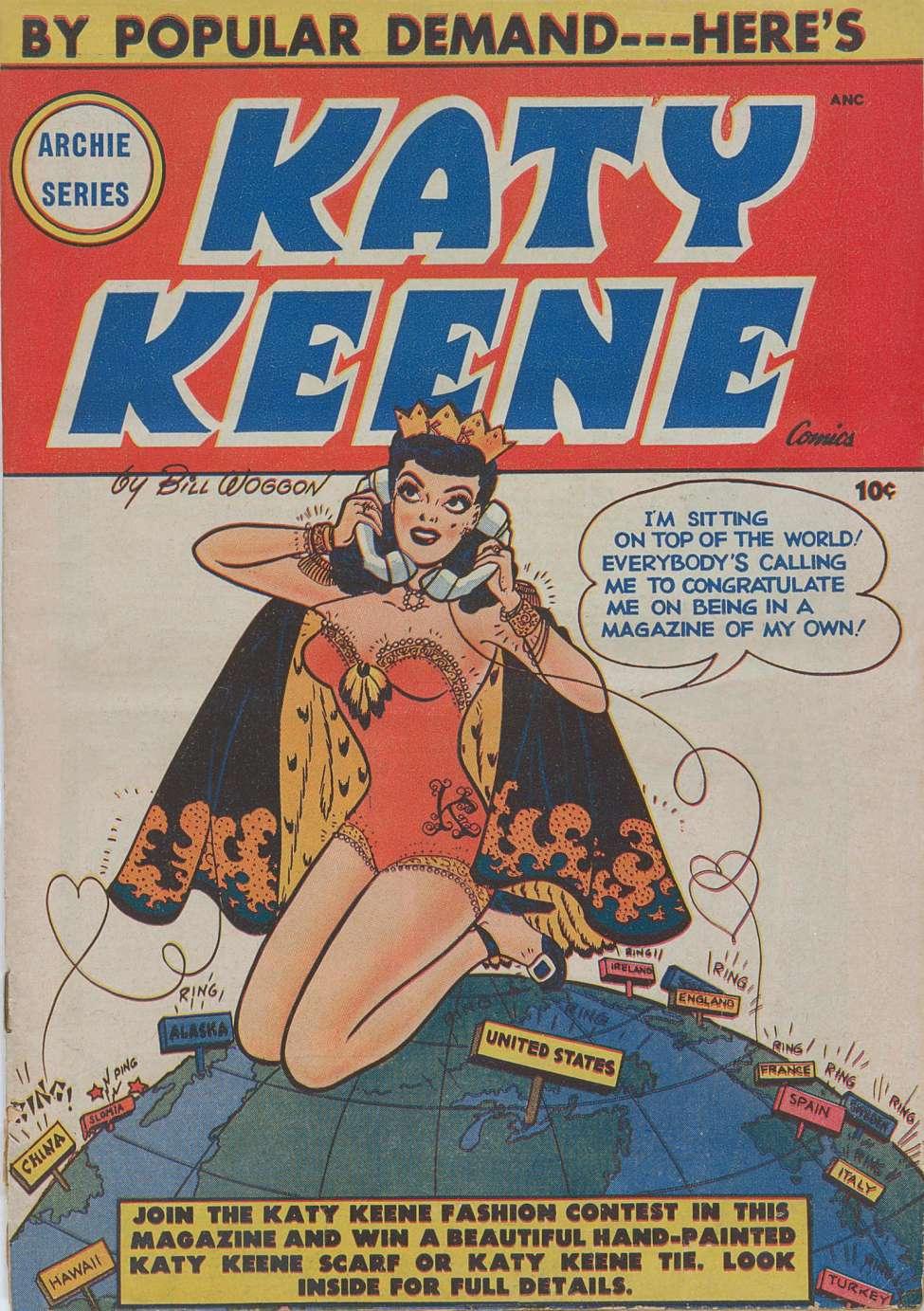 comic strip keene Katy