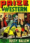 Cover For Prize Comics Western 72
