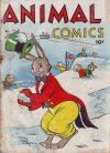 Cover For Animal Comics 6