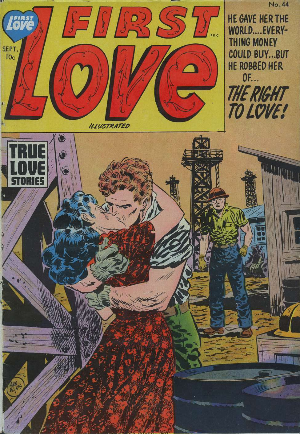 First Illustrated Book Cover : First love illustrated harvey comics