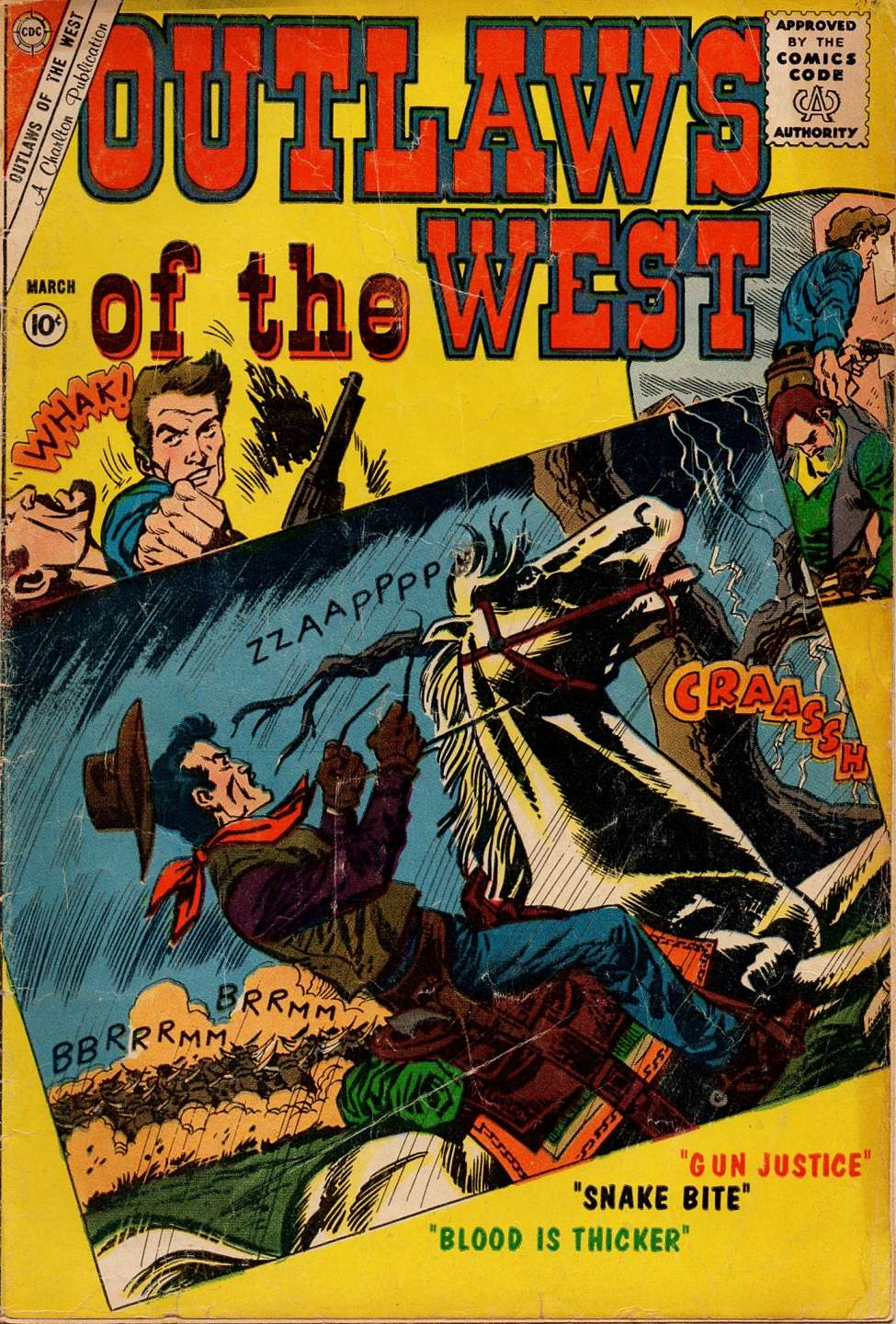 Comic Book Cover For Outlaws of the West #30