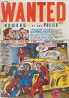 Cover For Wanted Comics 14