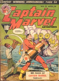 Large Thumbnail For Captain Marvel Adventures #23