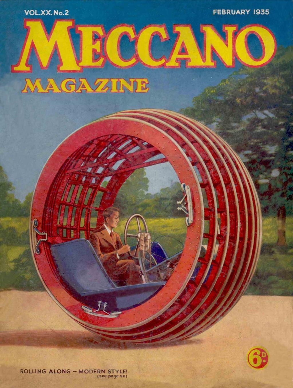 Comic Book Cover For Meccano Magazine v20 02