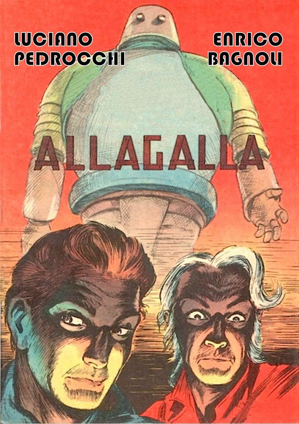 Comic Book Cover For Allagalla