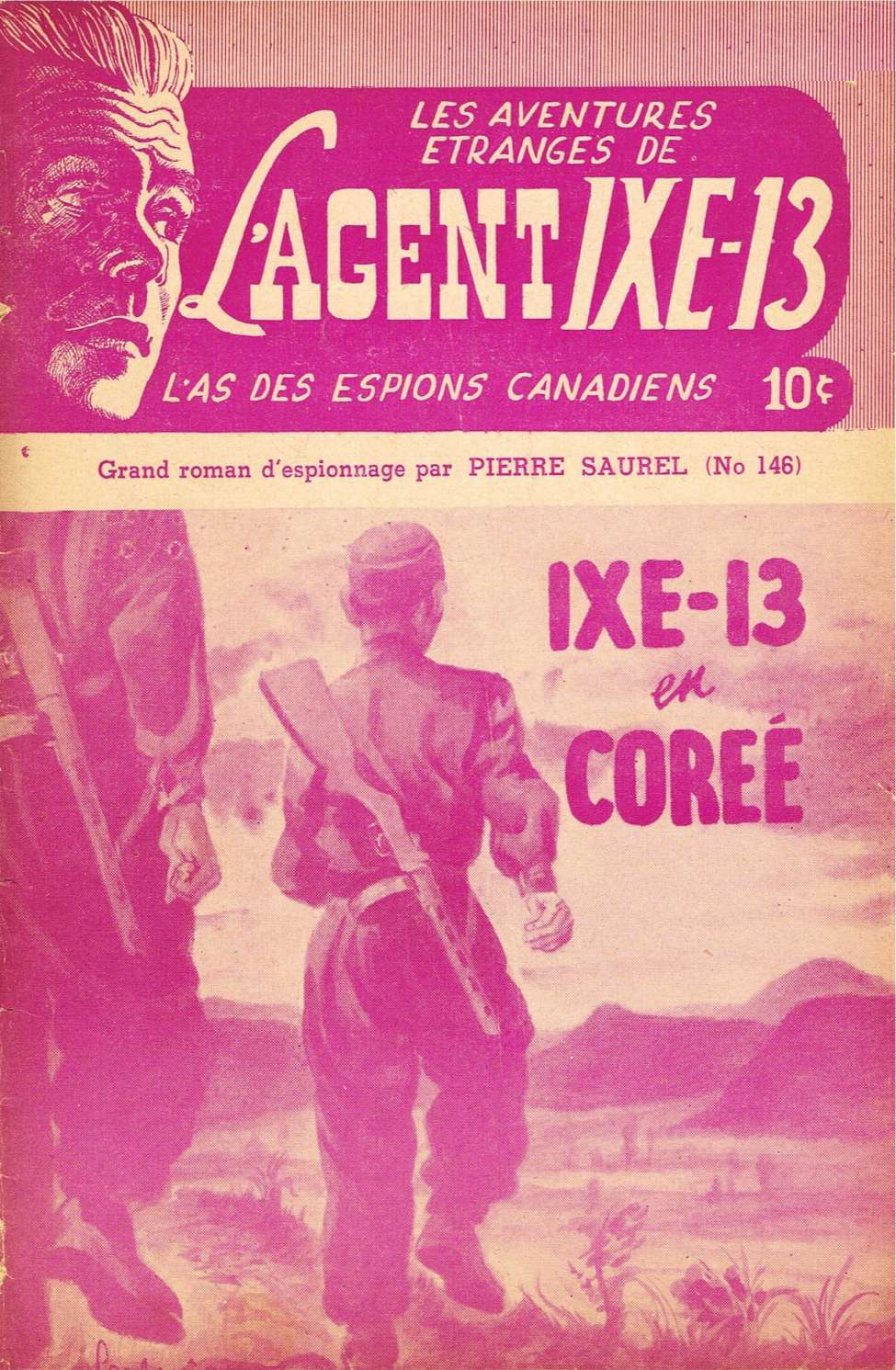 Comic Book Cover For L'Agent IXE-13 v2 146 - IXE-13 en Corée