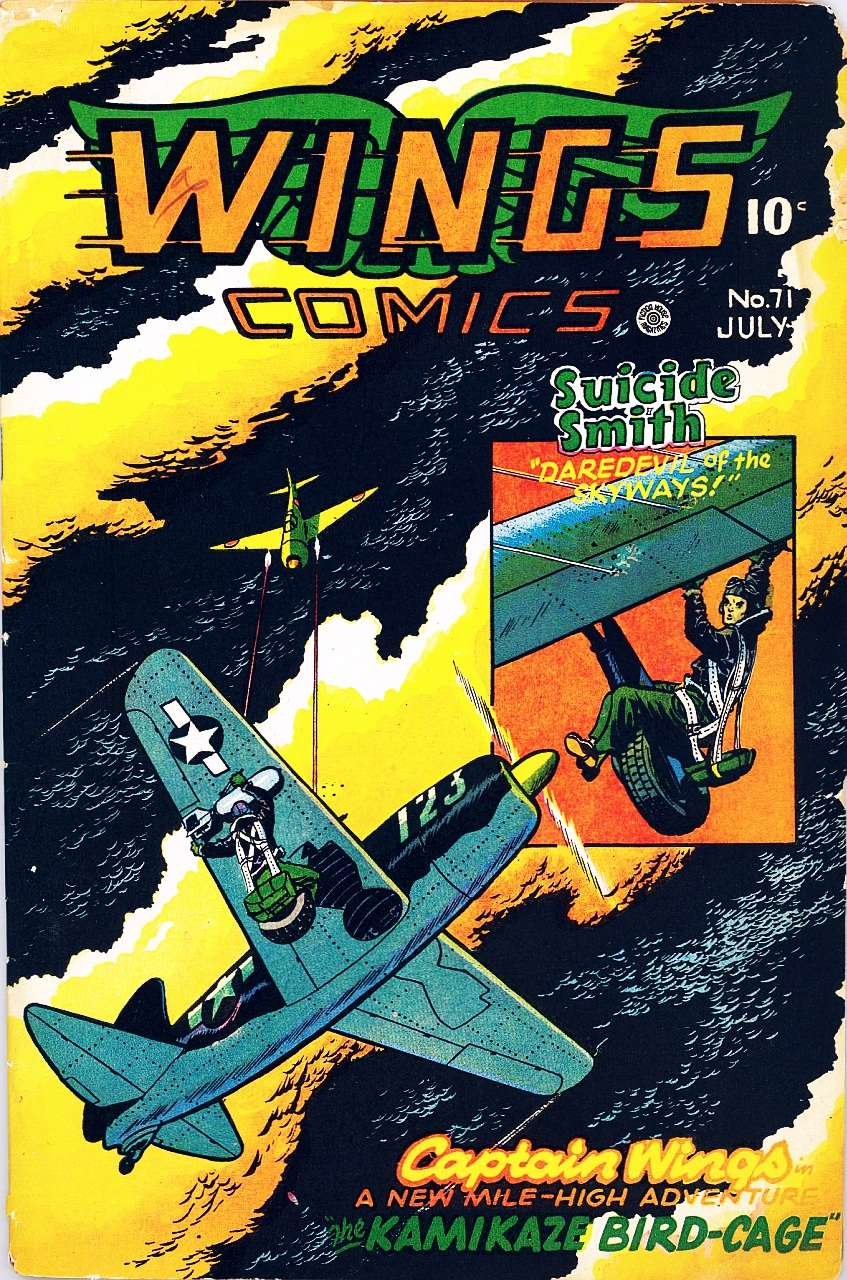 Comic Book Cover For Wings Comics #71 - Version 1