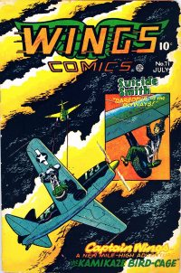 Large Thumbnail For Wings Comics #71 - Version 1