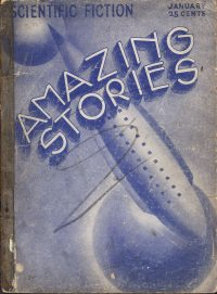 Large Thumbnail For Amazing Stories v07 10 - The Treasure of the Golden God - A. Hyatt Verrill