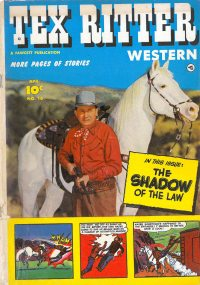 Large Thumbnail For Tex Ritter Western #16