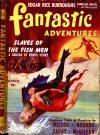 Cover For Fantastic Adventures v3 2 Slaves of the Fish Men Edgar Rice Burroughs