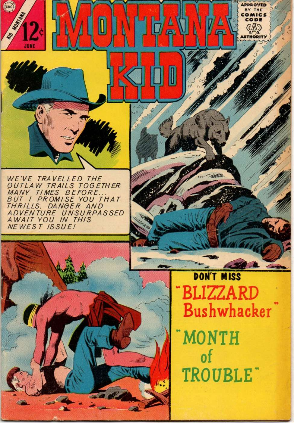 Comic Book Cover For Kid Montana #46
