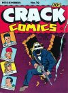 Cover For Crack Comics 19