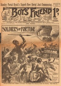 Large Thumbnail For The Boys' Friend 0493 - Soldiers of Fortune